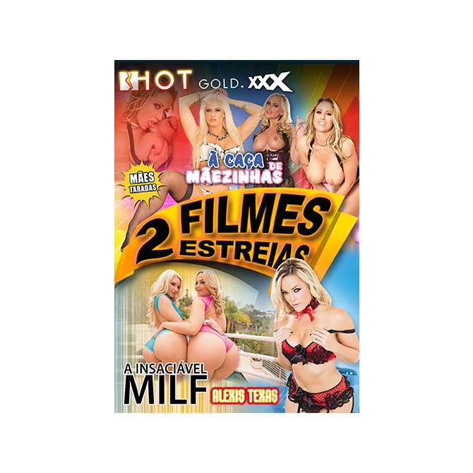 2 FILMS HUNTING MAMAS + ALEXIS TEXAS, THE INSATIABLE MILF