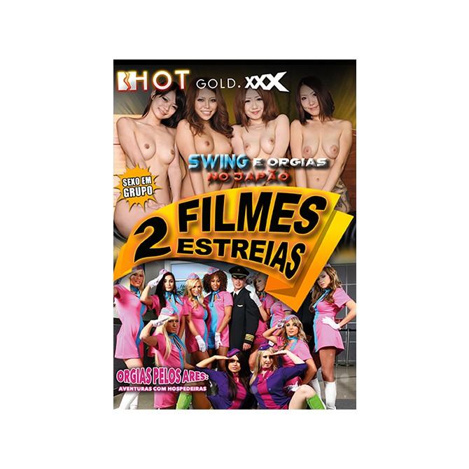 2 FILMES SWING E ORGIAS NO JAPÃO + ORGIAS PELOS ARES: AVENTURAS COM HOSPEDEIRAS