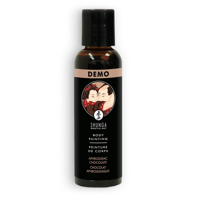 TINTA CORPORAL SHUNGA CHOCOLATE 60ML