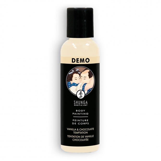 TINTA CORPORAL SHUNGA CHOCOLATE BRANCO 60ML