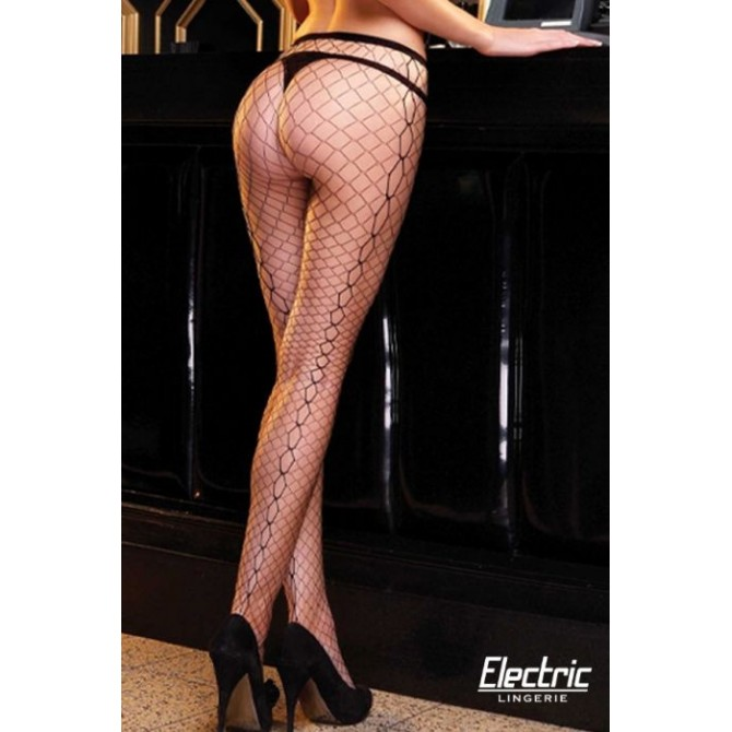 DIAMOND NET JACQUARD PANTYHOSE