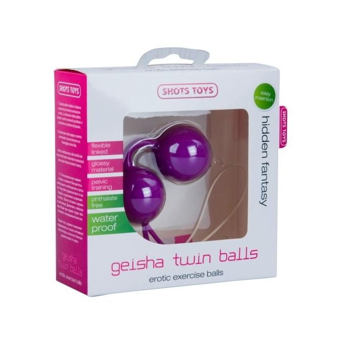 GEISHA TWIN BALLS PURPLE