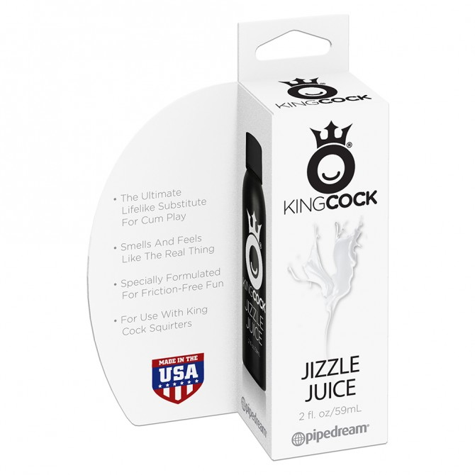 KING COCK JIZZLE JUICE LOTION 59ML