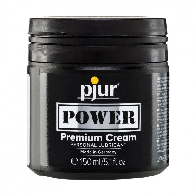 PJUR POWER PREMIUM CREAM LUBRICANT 150ML