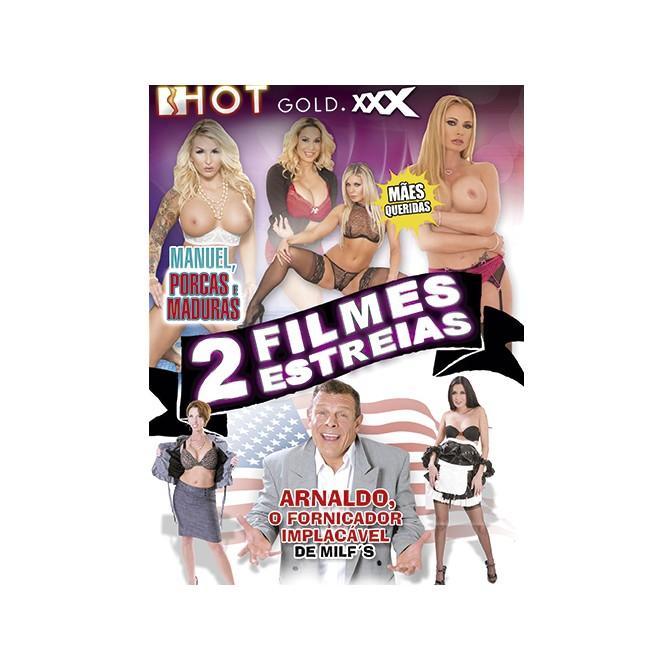 2 FILMES MANUEL, PORCAS E MADURAS + ARNALDO, O FORNICADOR IMPLACÁVEL DE MILFS