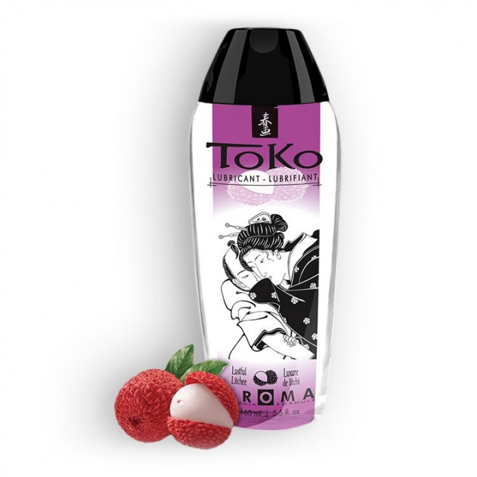 TOKO LUSTFUL LITCHEE LUBRICANT 165ML
