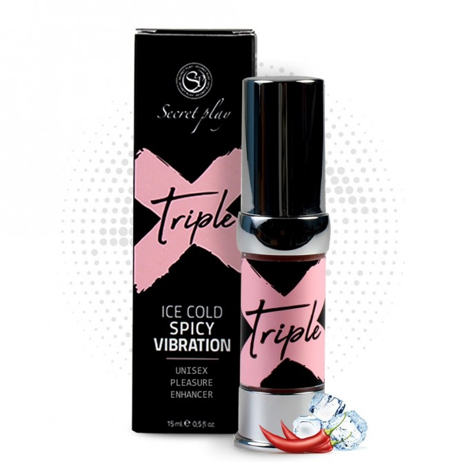SECRET PLAY UNISEX TRIPLE X STIMULANT GEL 15ML