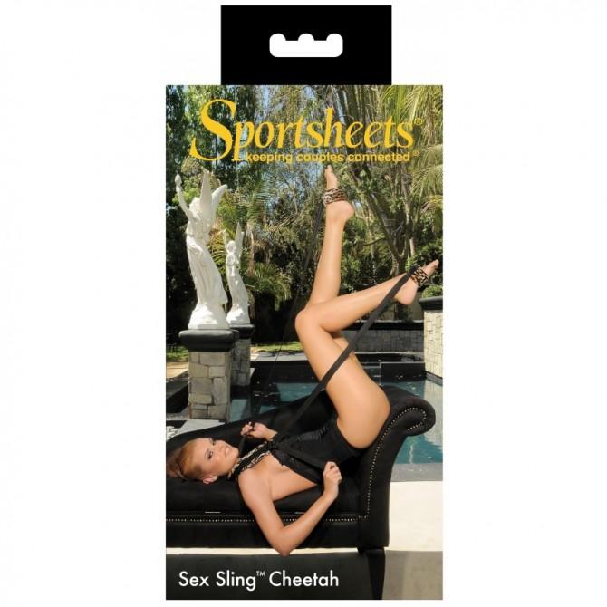 SUPORTE SEX SLING CHEETAH SPORTSHEETS