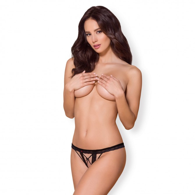 OBSESSIVE 865-THC CROTCHLESS THONG