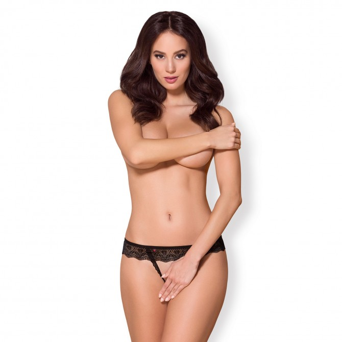 OBSESSIVE 864-THC CROTCHLESS THONG