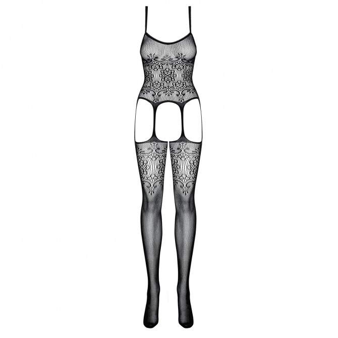 OBSESSIVE F218 BODYSTOCKING BLACK