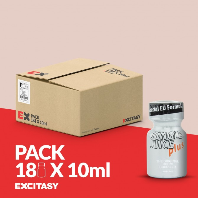 PACK WITH 18 JUNGLE JUICE PLUS 10ML