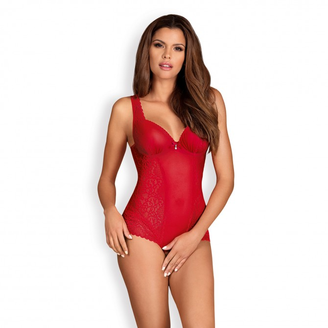 OBSESSIVE ROUGEBELLE TEDDY RED