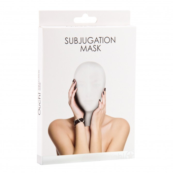 MÁSCARA SUBJUGATION MASK BRANCA