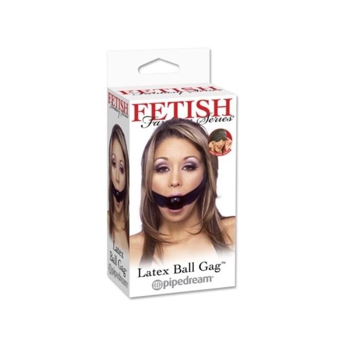 LATEX BALL GAG FETISH FANTASY SERIES