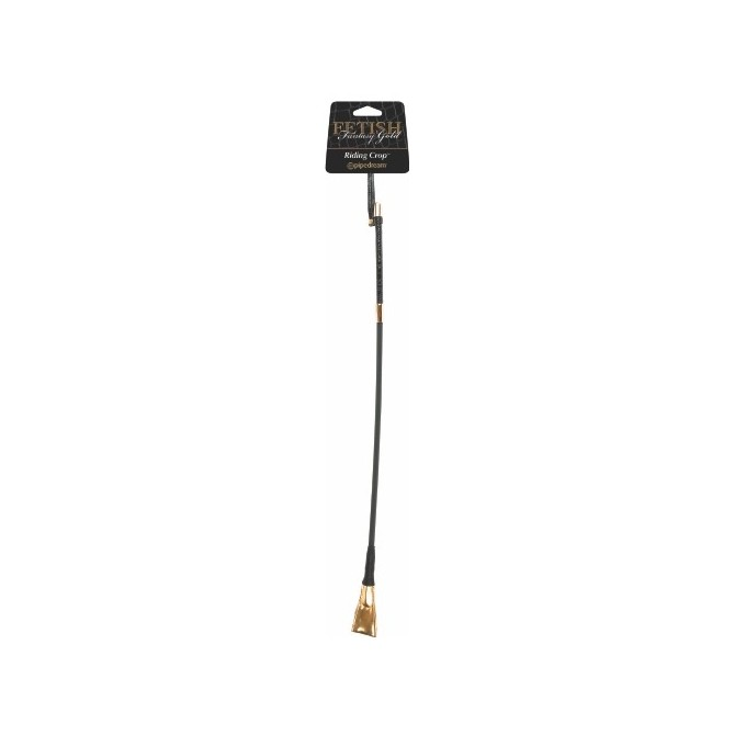 FETISH FANTASY GOLD RIDING CROP