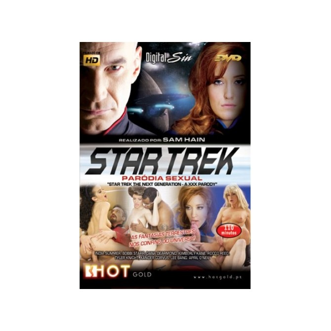 STAR TREK THE NEXT GENERATION: A XXX PARODY BLU-RAY