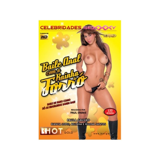 THE ANAL BALL WITH QUEEN OF FORRÓ BLU-RAY