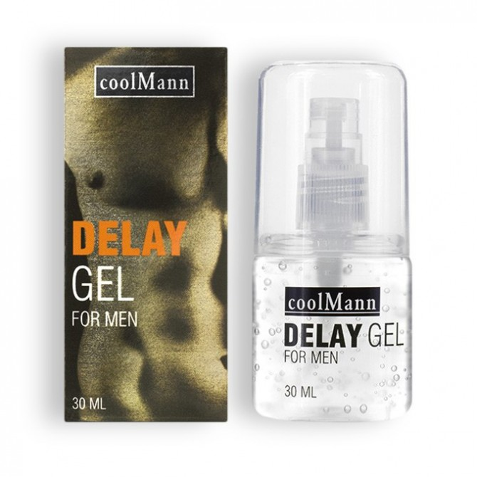 GEL RETARDANTE COOLMANN 30ML