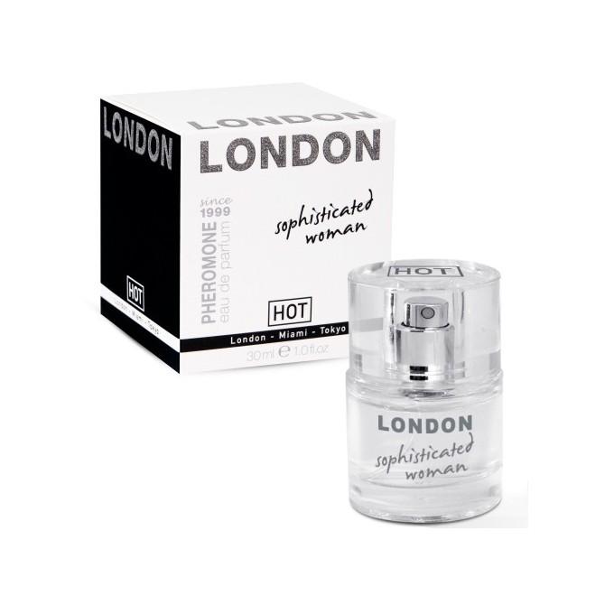 PERFUME COM FEROMONAS LONDON PARA MULHER 30ML