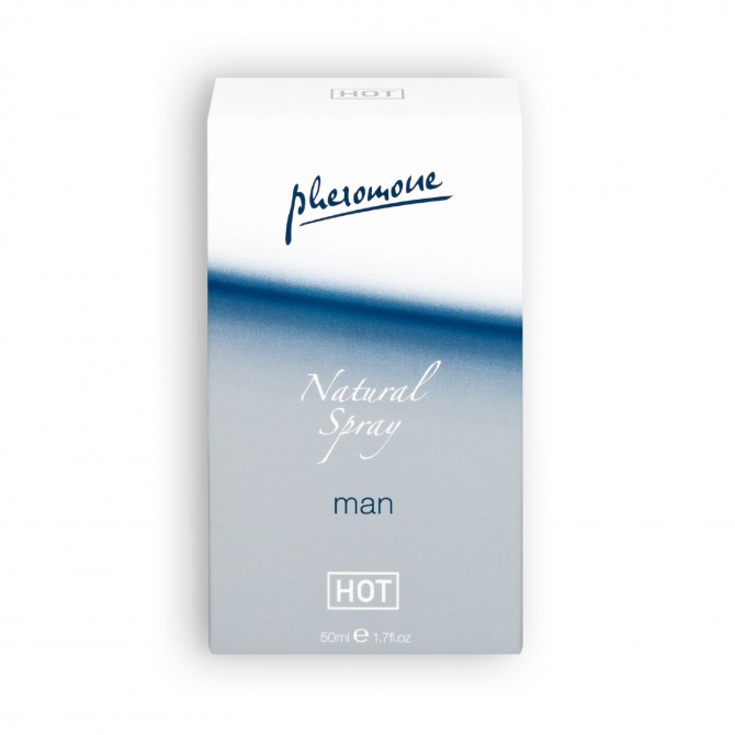 PERFUME COM FEROMONAS NATURAL SPRAY MAN 50ML