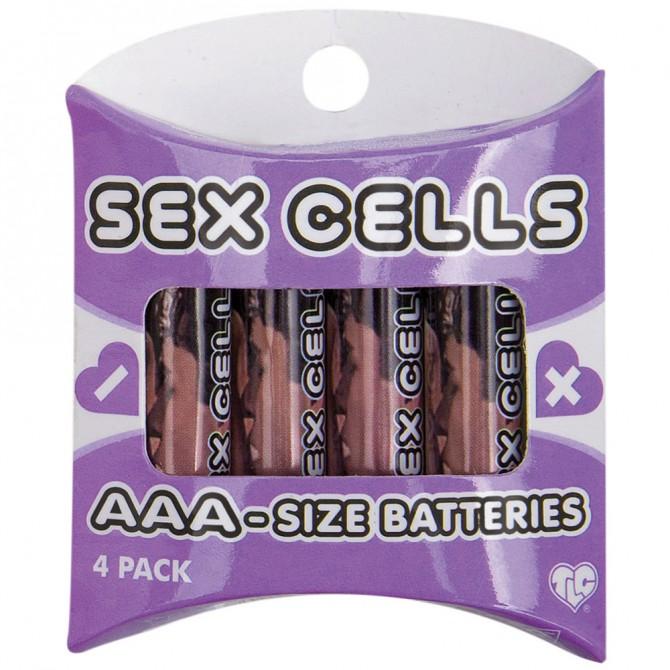 4 PILHAS AAA ALCALINAS SEX CELLS